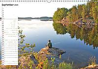 Einsame Natur - Terminkalender (Wandkalender 2019 DIN A3 quer) - Produktdetailbild 9