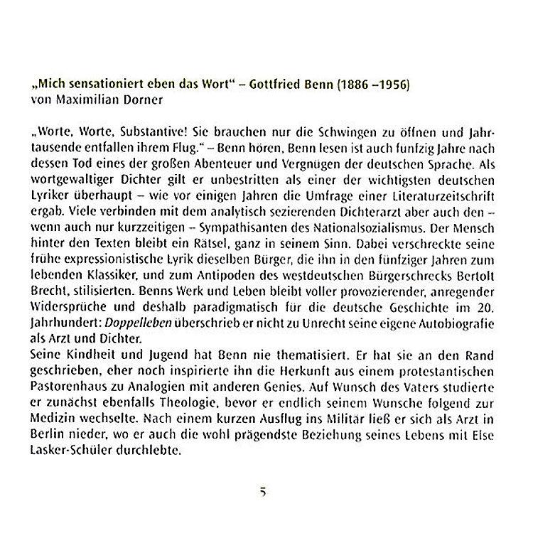 Einsamer Nie Gedichte Prosa 2 Audio Cds Hörbuch