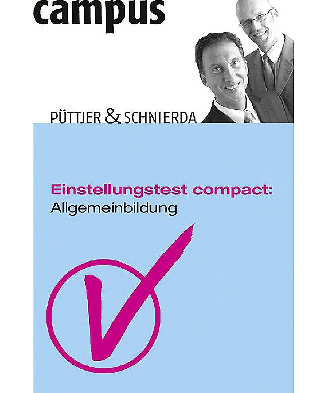 Einstellungstest Compact Allgemeinbildung Buch Weltbildde