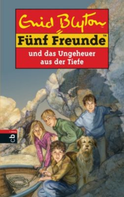 Einzelbände: Fünf Freunde und das Ungeheuer aus der Tiefe, Enid Blyton