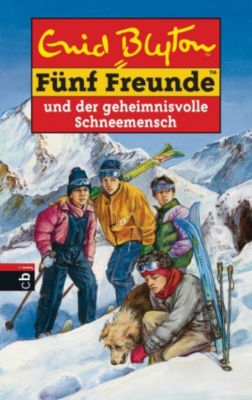 Einzelbände: Fünf Freunde und der geheimnisvolle Schneemensch, Enid Blyton