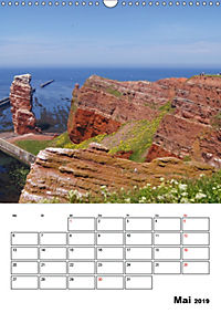Einzigartige Insel Helgoland (Wandkalender 2019 DIN A3 hoch) - Produktdetailbild 5