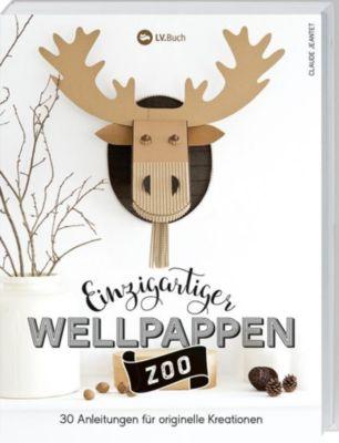 Einzigartiger Wellpappen-Zoo - Claude Jeantet  
