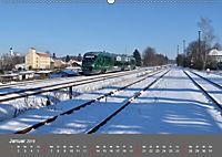 Eisenbahn Kalender 2019 - Oberlausitz und Nachbarländer (Wandkalender 2019 DIN A2 quer) - Produktdetailbild 1