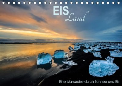 EISLand - Eine Islandreise durch Schnee und Eis (Tischkalender 2019 DIN A5 quer), Irma van der Wiel