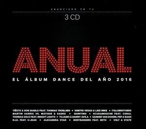 El Album Dance Del Ano 2016, Diverse Interpreten