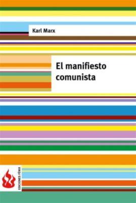 El manifiesto comunista (low cost). Edición limitada, Karl Marx