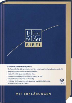 Elberfelder Bibel mit Erklärungen - Leder, Goldschnitt -  pdf epub