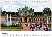 Elbmetropole Dresden (Tischkalender 2019 DIN A5 quer) - Produktdetailbild 1
