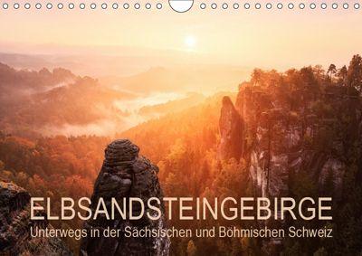 Elbsandsteingebirge: Unterwegs in der Sächsischen und Böhmischen Schweiz (Wandkalender 2019 DIN A4 quer), Gerhard Aust