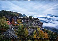 Elbsandsteingebirge: Unterwegs in der Sächsischen und Böhmischen Schweiz (Wandkalender 2019 DIN A2 quer) - Produktdetailbild 2