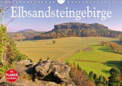 Elbsandsteingebirge (Wandkalender 2019 DIN A4 quer), LianeM