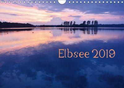 Elbsee 2019 (Wandkalender 2019 DIN A4 quer), Bettina Schnittert