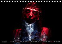 Electrified Faces - Lichtkunst Portraits (Tischkalender 2019 DIN A5 quer) - Produktdetailbild 1