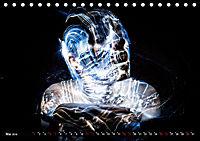 Electrified Faces - Lichtkunst Portraits (Tischkalender 2019 DIN A5 quer) - Produktdetailbild 5