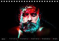Electrified Faces - Lichtkunst Portraits (Tischkalender 2019 DIN A5 quer) - Produktdetailbild 7