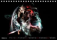 Electrified Faces - Lichtkunst Portraits (Tischkalender 2019 DIN A5 quer) - Produktdetailbild 10