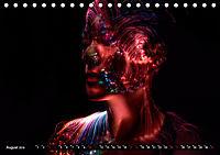 Electrified Faces - Lichtkunst Portraits (Tischkalender 2019 DIN A5 quer) - Produktdetailbild 8