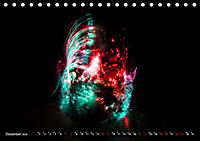 Electrified Faces - Lichtkunst Portraits (Tischkalender 2019 DIN A5 quer) - Produktdetailbild 12