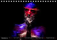 Electrified Faces - Lichtkunst Portraits (Tischkalender 2019 DIN A5 quer) - Produktdetailbild 11