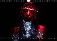 Electrified Faces - Lichtkunst Portraits (Wandkalender 2019 DIN A4 quer) - Produktdetailbild 1