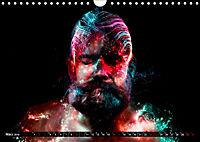 Electrified Faces - Lichtkunst Portraits (Wandkalender 2019 DIN A4 quer) - Produktdetailbild 3