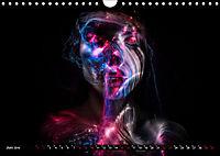 Electrified Faces - Lichtkunst Portraits (Wandkalender 2019 DIN A4 quer) - Produktdetailbild 6