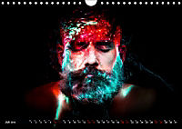 Electrified Faces - Lichtkunst Portraits (Wandkalender 2019 DIN A4 quer) - Produktdetailbild 7