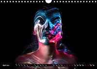 Electrified Faces - Lichtkunst Portraits (Wandkalender 2019 DIN A4 quer) - Produktdetailbild 4