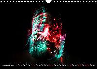 Electrified Faces - Lichtkunst Portraits (Wandkalender 2019 DIN A4 quer) - Produktdetailbild 12