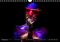 Electrified Faces - Lichtkunst Portraits (Wandkalender 2019 DIN A4 quer) - Produktdetailbild 11