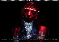 Electrified Faces - Lichtkunst Portraits (Wandkalender 2019 DIN A2 quer) - Produktdetailbild 1