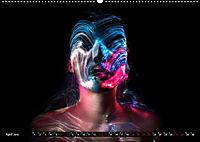 Electrified Faces - Lichtkunst Portraits (Wandkalender 2019 DIN A2 quer) - Produktdetailbild 4