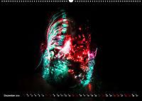 Electrified Faces - Lichtkunst Portraits (Wandkalender 2019 DIN A2 quer) - Produktdetailbild 12