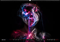 Electrified Faces - Lichtkunst Portraits (Wandkalender 2019 DIN A2 quer) - Produktdetailbild 6