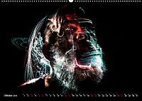 Electrified Faces - Lichtkunst Portraits (Wandkalender 2019 DIN A2 quer) - Produktdetailbild 10