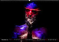 Electrified Faces - Lichtkunst Portraits (Wandkalender 2019 DIN A2 quer) - Produktdetailbild 11