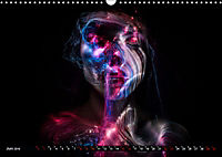 Electrified Faces - Lichtkunst Portraits (Wandkalender 2019 DIN A3 quer) - Produktdetailbild 6