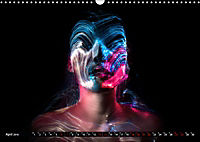 Electrified Faces - Lichtkunst Portraits (Wandkalender 2019 DIN A3 quer) - Produktdetailbild 4