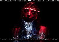 Electrified Faces - Lichtkunst Portraits (Wandkalender 2019 DIN A3 quer) - Produktdetailbild 1