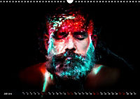 Electrified Faces - Lichtkunst Portraits (Wandkalender 2019 DIN A3 quer) - Produktdetailbild 7