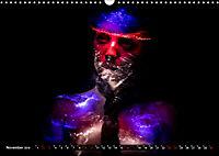 Electrified Faces - Lichtkunst Portraits (Wandkalender 2019 DIN A3 quer) - Produktdetailbild 11
