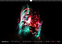 Electrified Faces - Lichtkunst Portraits (Wandkalender 2019 DIN A3 quer) - Produktdetailbild 12