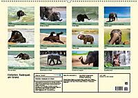 Elefanten. Badespass am Strand (Wandkalender 2019 DIN A2 quer) - Produktdetailbild 13