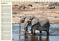 Elefanten - Graue Riesen (Tischkalender 2019 DIN A5 quer) - Produktdetailbild 1