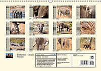 Elefanten - Graue Riesen (Wandkalender 2019 DIN A3 quer) - Produktdetailbild 13