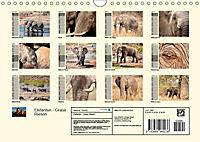 Elefanten - Graue Riesen (Wandkalender 2019 DIN A4 quer) - Produktdetailbild 13