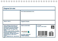 Elegante Schwäne (Tischkalender 2019 DIN A5 quer) - Produktdetailbild 13
