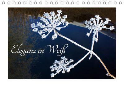 Eleganz in Weiß (Tischkalender 2019 DIN A5 quer), Christa Kramer