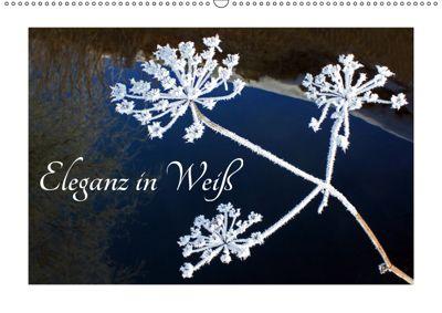Eleganz in Weiß (Wandkalender 2019 DIN A2 quer), Christa Kramer